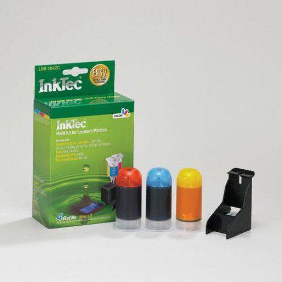 Kit Recarga Tinta para Lexmark Z55 Color