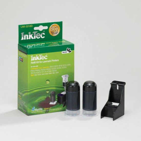 Kit Recarga Tinta para Lexmark Z818 Negro