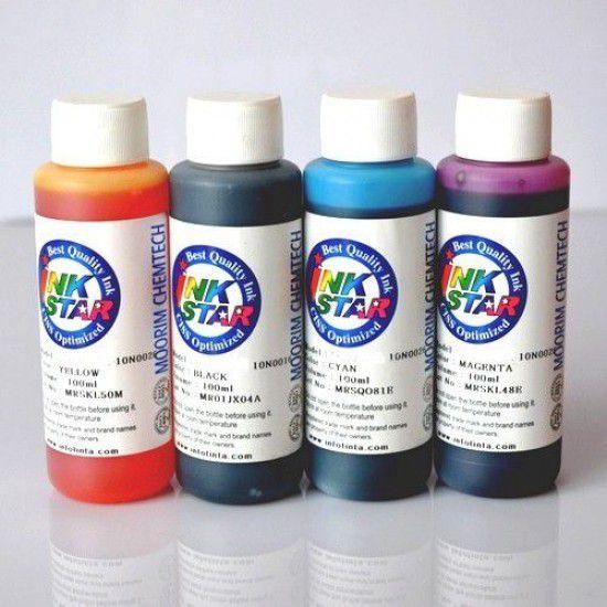 Tinta Recarga Lexmark X4650 Pack 4x100ml