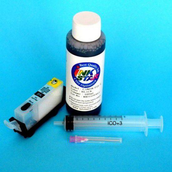 Canon iP6000D Cartucho Recargable Vacio Negro Pigmentado mas Tinta
