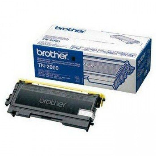 Brother DCP-7010 Toner Original Brother TN2000 Negro TN 2000