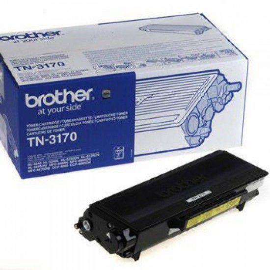 Brother DCP-8065dn Toner Original Brother TN3170 Negro TN 3170
