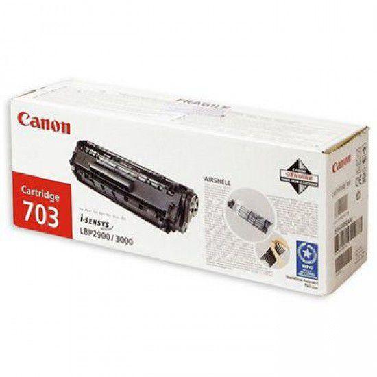 Canon Lbp 2900b Toner Original Negro Canon 703 7616a005aa