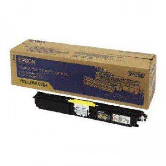 Epson Aculaser C1600 Toner Original Amarillo Epson S050554