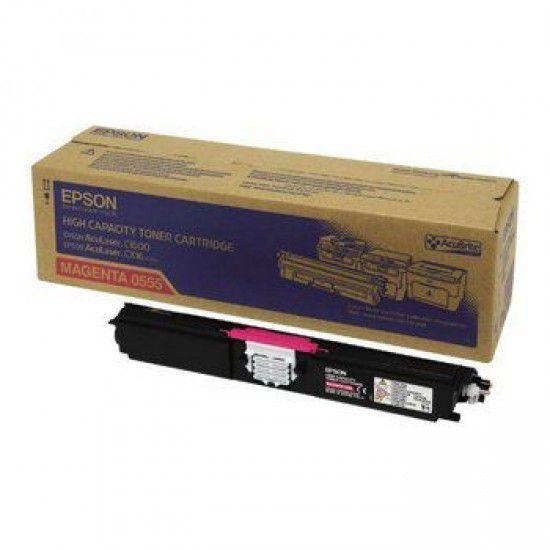 Epson Aculaser C1600 Toner Original Magenta Epson S050555