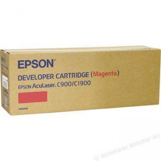 Epson Aculaser C1900 Toner Original Magenta Cartucho C900