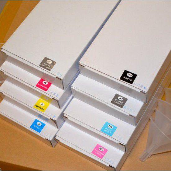 Pack 6 Cartuchos Recargables para Roland XJ-540