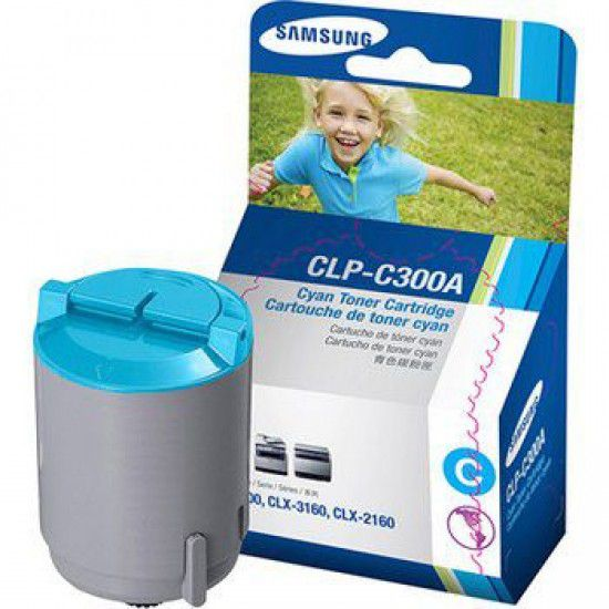 Samsung CLP 300n Toner Original Samsung CLPc300a Cyan