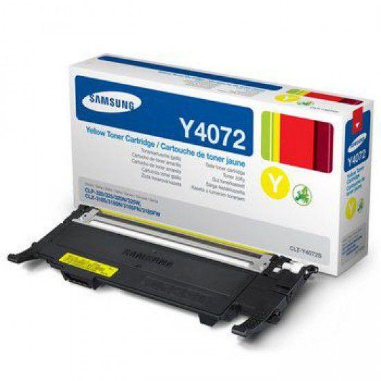 Samsung CLX-3185 Toner Original Samsung Clt Y4072s Amarillo