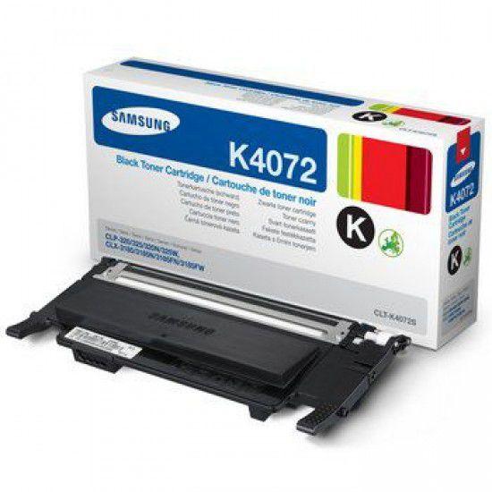 Samsung CLX-3185fw Toner Original Samsung Clt K4072s Negro