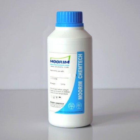 Compatible Mimaki JV3-130SPII Light Cyan 1/2 Litro Tinta para Recarga Ecosolvente