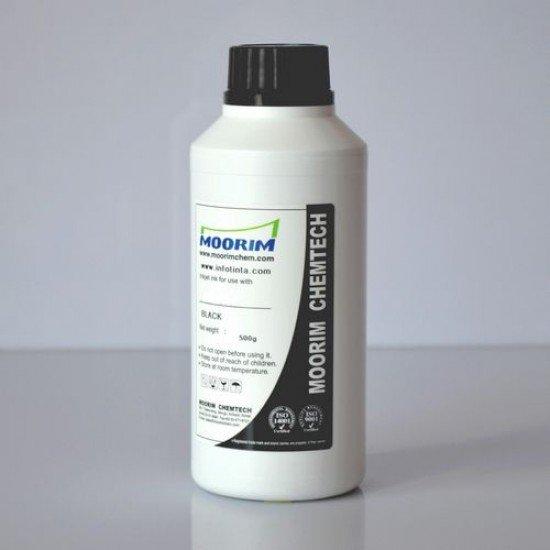 Tinta de Recarga Piezo base agua para Plotter Mimaki JV-1300 Negro 1/2 Litro
