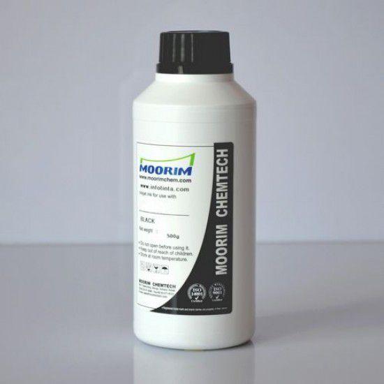 Tinta de Recarga Piezo base agua para Plotter Mimaki JV2-180 Negro 1/2 Litro