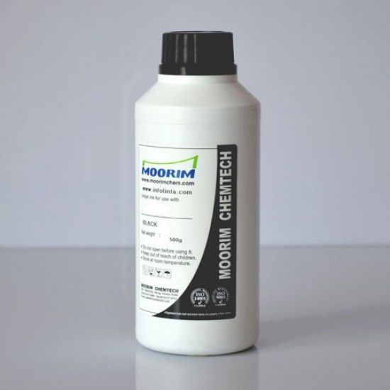 Tinta de Recarga Piezo base agua para Plotter Mimaki JV2-90 Negro 1/2 Litro