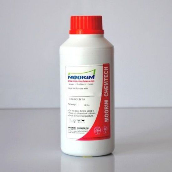 Tinta de Recarga Piezo base agua para Plotter Mimaki JV300-130 Magenta 1/2 Litro