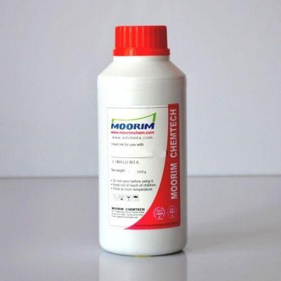 Tinta de Recarga Piezo base agua para Plotter Mimaki JV400-130LX Magenta 1/2 Litro