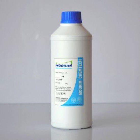Tinta para Plotter Epson Pigmentada Base Agua Cyan Claro 1000ml