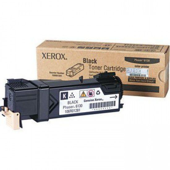 Xerox Phaser 6130n Toner Original Negro Xerox 106r01281