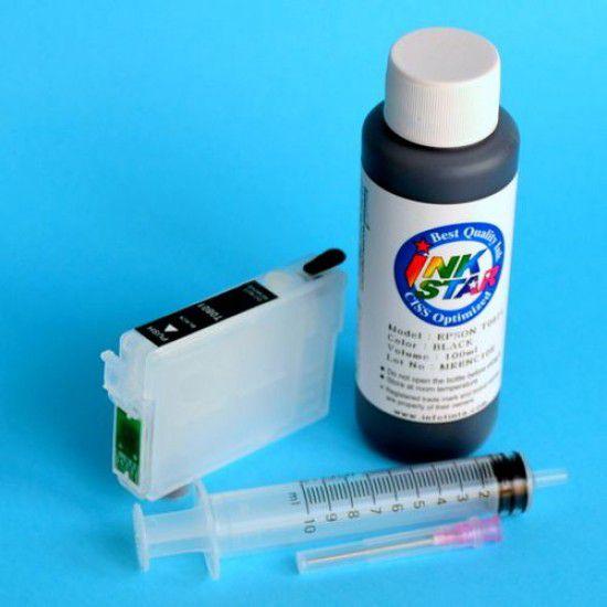 Cartucho Recargable para Epson PX7830WD Autoreseteable Vacio Negro mas Tinta