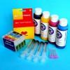 Cartuchos Rellenables para Epson DX9400F Autoreseteables Kit con Tintas