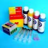 Cartuchos Rellenables para Epson SX205 Autoreseteables Kit con Tintas