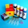 Cartuchos Rellenables para Epson WF-3530DTWF Autoreseteables Kit con Tintas