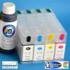 Cartuchos Rellenables para Epson WP-4025 DW Autoreseteables Kit sin Tinta