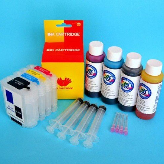 Hp OfficeJet Pro K5400 Cartuchos Recargables Kit con Tintas