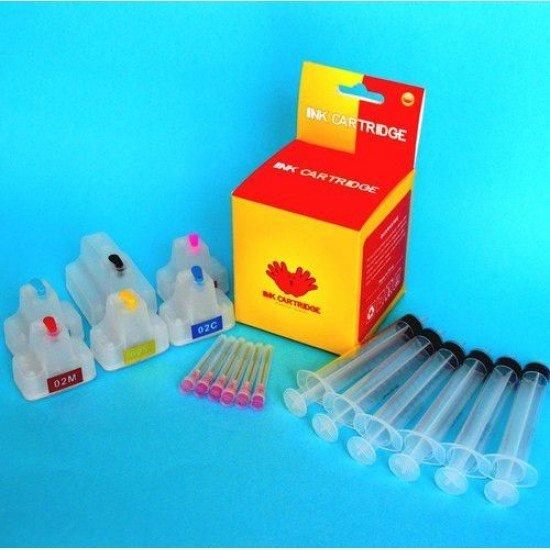 Hp Photosmart 3210xi Cartuchos Recargables Autoreseteables Kit sin Tinta