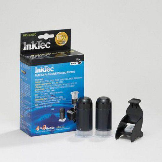 Kit Recarga Tinta Para Hp Psc 2550 Negro
