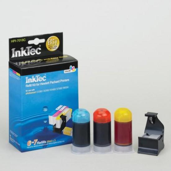 Tinta Recarga Hp Photosmart c309n Pack 5 Litros Color