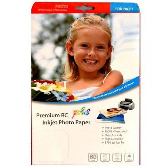Papel Fotográfico Profesional Premium Doble Cara Luster Dye y Pigmento 280g A4 20 hojas