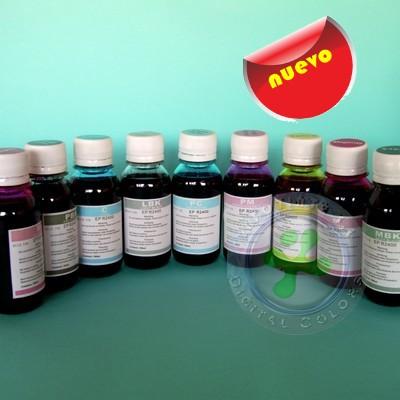 Tinta para Impresoras Epson 2100 2200 Pack 8 Botellas de 100ml